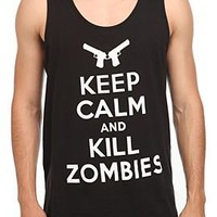 Keep Calm And Kill Zombies Tank Top - 319636