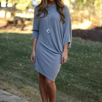 Way to My Heart Dress - Grey