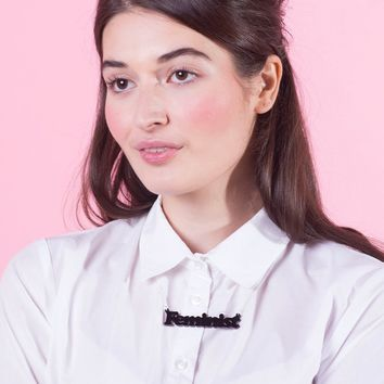 Feminist Small Statement Necklace by Tatty Devine