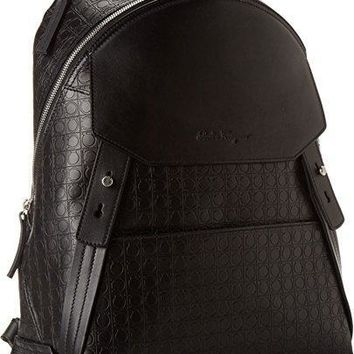 Salvatore Ferragamo Mens Gamma Soft Backpack
