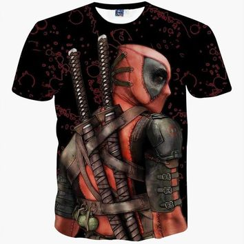 Deadpool the Badass 3D T-Shirt