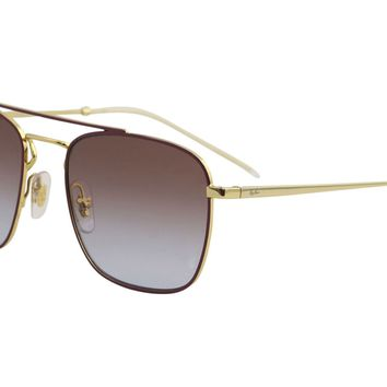 Ray Ban RB3588 RB/3588 9060/I8 Gold/Bordeaux RayBan Sunglasses 55mm