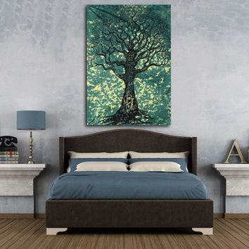 Wall Hanging Polyester Tree Of Life Indian Tapestry Bohemian Home Bedroom Bedspread Dorm Throw Blanket Mat Rug Cover