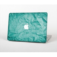 The Crumpled Trendy Green Texture Skin Set for the Apple MacBook Pro 15""