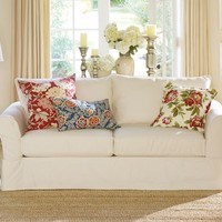 PB Comfort Slipcovered Sleeper Sofa