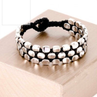 RECTANGLE TRIPLE LINE BRACELET