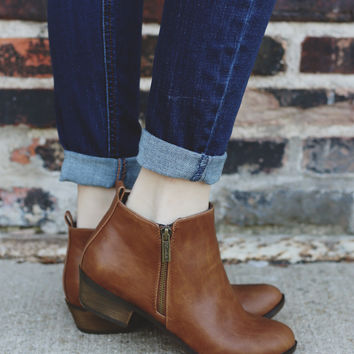 Blair Booties - Whiskey