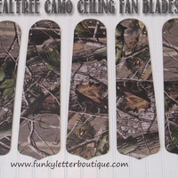 Realtree AP Camo Ceiling Fan Blades Replacements
