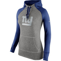 New York Giants Nike Women's Platinum All Time Performance Hoodie – Charcoal