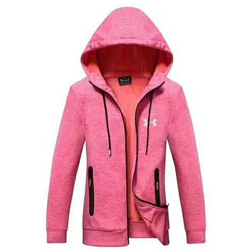 UNDER ARMOUR Women Men Lover Top Coat Pink I-A001-MYYD