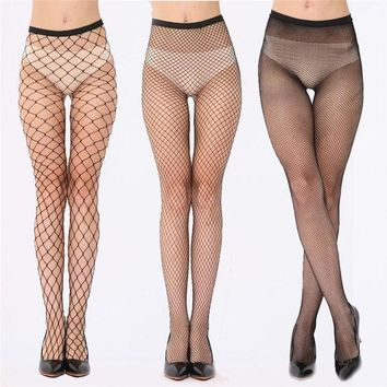 PEAPDQ7 Sexy Fishnet Stockings Female Fish Net Pantyhose Black Mesh Lingerie Sheer Tights