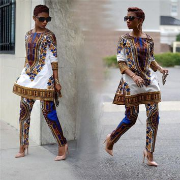 African clothing African dashiki clothes leisure leisure two sets Pants coat