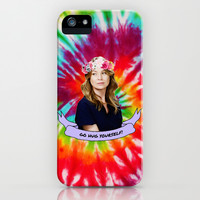GO HUG YOURSELF iPhone & iPod Case by drmedusagrey