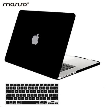 Mosiso Mac Pro 13 Matte Protective Cover Case for Macbook Pro 13 15 Retina Model A1502 A1425 A1398 display year 2013