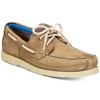 Timberland Men's Piper Cove Leather Boat Shoes | macys.com