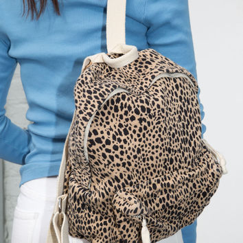 Mini Leopard Backpack - Accessories