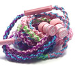 Hard Candy   Wrapped Earbuds Tangle Free Earbuds Your Choice of Headphones