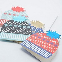 Christmas Hats Cards Pack - Urban Outfitters