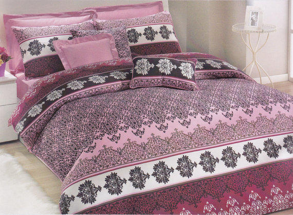 Moroccan Bedding Set In Powder Pink, From MyveraLinen On Etsy