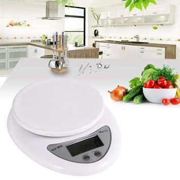 ONETOW free shipping high quality useful new 5kg 5000g 1g digital kitchen scales food diet postal scale balance p eho