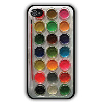 Watercolor paint set iPhone 4, iPhone 4s Painting Kit - iphone 5 cases  Cool iPhone Cases- Cool iPhone Cases- iPhone 4 iPhone 4s