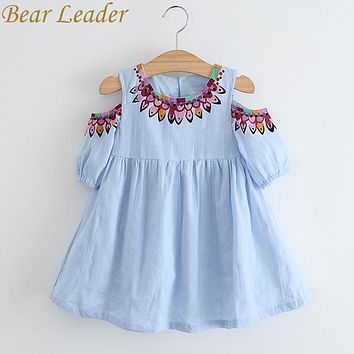 Girls Dress 2018 Summer Tulle Girls Dress With Leakage Top fashion Party and  Princess Kids Toddler Dresses Children Clothing