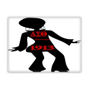 Delta Sigma Theta Dancer Wall Art Canvas