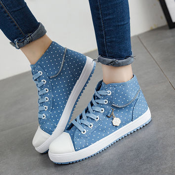 Canvas Breathable Casual Student Shoes