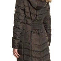 MICHAEL Michael Kors | Puffer Quilted Faux Fur Down and Feather Filled Jacket | Nordstrom Rack