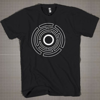 POA Tron  Mens and Women T-Shirt Available Color Black And White