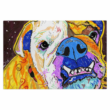 "Rebecca Fisher ""Tucker"" Bulldog Decorative Door Mat"