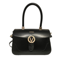 Valentino Black Leather Bag for Saks