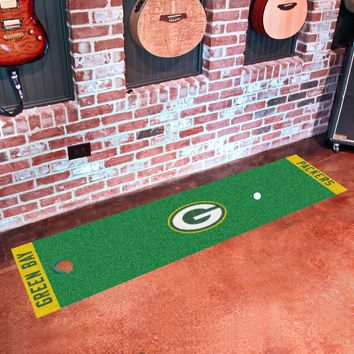 "NFL - Green Bay Packers Putting Green Runner 18""x72"""