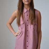 Vintage Re-Worked Shirt/ Dress from Lily Vintage