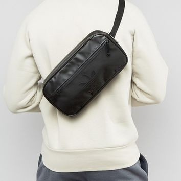 adidas Originals Cross Body Bag In Black BK6836 at asos.com