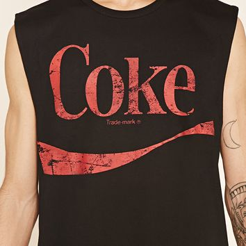 Coke Graphic Muscle Tee
