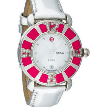 Michele Diamond Coral Watch
