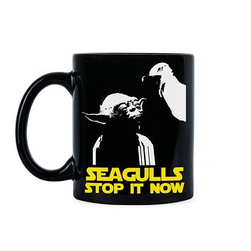 Seagulls Stop It Now Mug