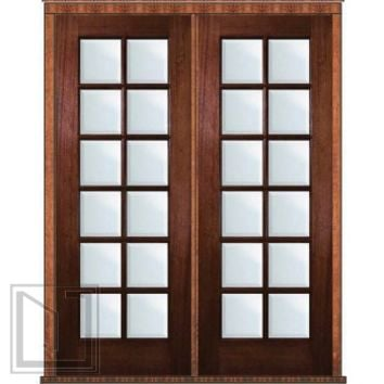 Best mahogany wood doors products on wanelo for B and q french doors