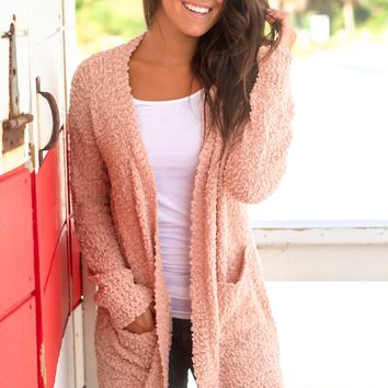Blush Knit Cardigan