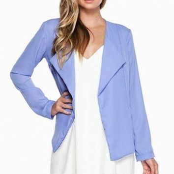 Mura Periwinkle Blazer FINAL SALE!