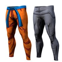 2017 Ball Z Men/Women 3D Dragon Ball Z Trousers Vegeta Goku Summer Style 3D  trousers