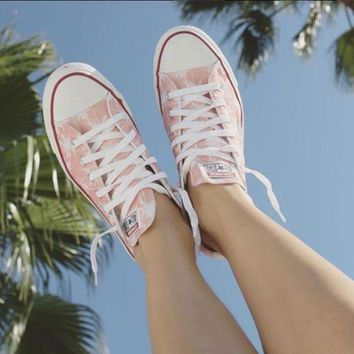 ESBONB When In Doubt Vacation Converse Low Top