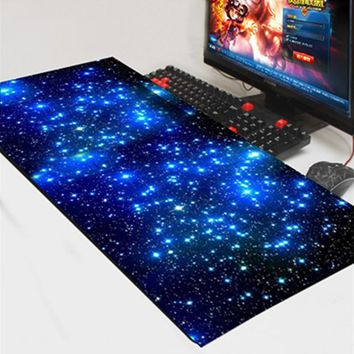 Lrg Gaming Mouse Pad Locking Edge Mat Computer Laptop Mousepad for Apple MacBook