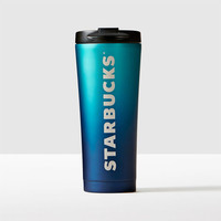 Stainless Steel Tumbler - Ombré Blue, 16 fl oz