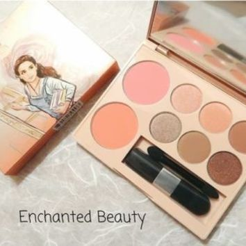 Cute Press Disney Collection Palette Beauty and The Beast Make Up Limited Track
