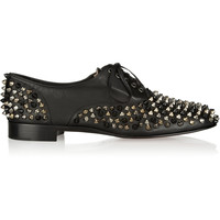 Christian Louboutin - Freddy spiked leather brogues
