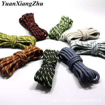 1Pair outdoor sport casual 19Colors round shoelaces hiking slip rope shoe laces sneakers boot shoelaces strings100/120/140/160CM