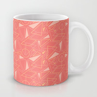 Tonal Geometric Pattern (2 of 4)  Mug by mollykd