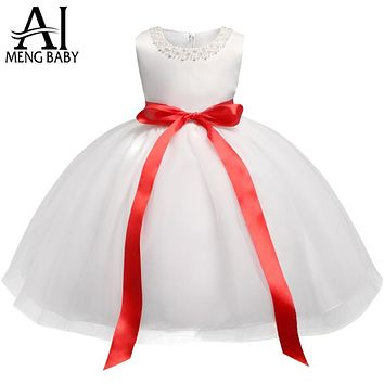White Baby Dresses For Baby Frocks Designs Toddler Girl Clothes Dress Infant Party